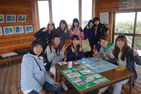 利尻島岬公園にて